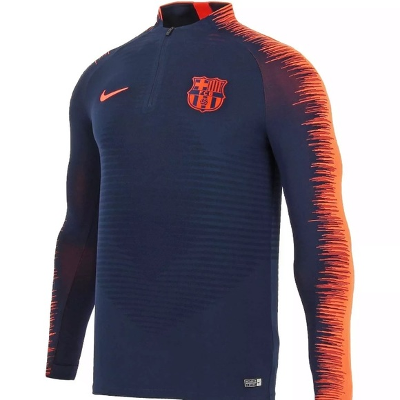 Florecer Él Pautas  Nike Jackets & Coats   Fc Barcelona Mens Xl Dry Squad Drill Jacket    Poshmark